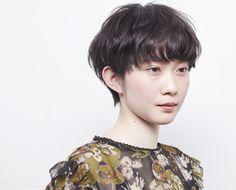HAIR CATALOG.JP Hear Style, Very Short Hair, Hiroshima, Short Hairstyles For Women, Short Cuts, My Hair, Pixie, Short Hair Styles, Hair Cuts