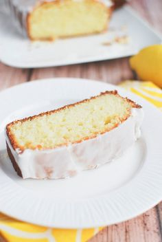 Glazed Lemon Bread - Fake Ginger