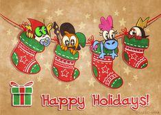 Happy Holidays! Margo-sama.deviantart.com #wanderoveryonder #woy #commanderpeepers #sylvia #lordhater #save #savewoy #wander #over #yonder #commander #peepers #lord #hater #margosama