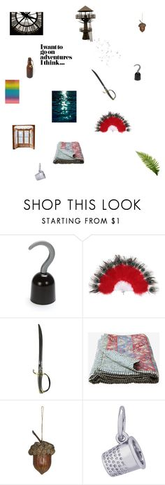 """""""Peter Pan"""" by dorothygale-z ❤ liked on Polyvore featuring interior, interiors, interior design, home, home decor, interior decorating, Rembrandt Charms, Forever 21 and vintage"""