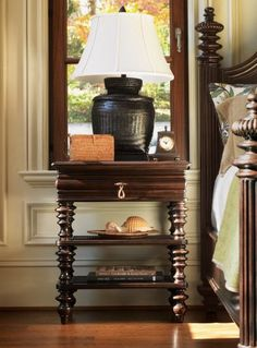 Attractive Tommy Bahama Royal Kahala Nightstand.