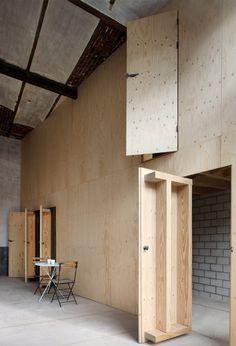 Plywood Interior, Arch Interior, Home Interior, Interior And Exterior, Interior Decorating, Plywood Walls, Modern Interior, Architecture Details, Interior Architecture