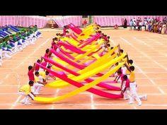 Saree drill (Satin c School Boy, High School, Celebration Day, Sports Day, In Kindergarten, Drill, Activities, Celebrities, Pep Rally