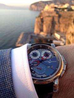 Stunning Ulysse Nardin watch.