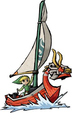 The King of Red Lions - Characters & Art - The Legend of Zelda: The Wind Waker HD