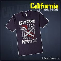 #California Cali Pipefitter #shirts Limited Edition.Various colors to choose from:http://amzn.to/2iqZ0DC  #tshirt #clothing #fashion #womens