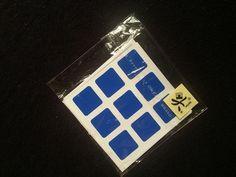 Adesivo Para Cubo Magico Stickers 3x3x3 Dayan Frete Grátis - R$ 8,79 no MercadoLivre