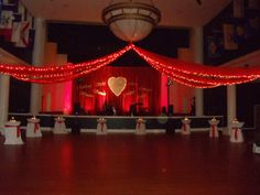Valentines Day event at the Lyceum aboard MCRD Parris Island in Beaufort, SC. This would be perfect for Valentines Day wedding as well.