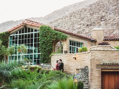 Fab Palm Springs wedding venue, location of Whitney Port's wedding in 2015.