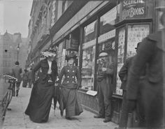 Here is a cool series of photos of Grafton Street in Dublin that we uncovered at the National Library of Ireland. They have an excellent online database of Old Pictures, Old Photos, Vintage Photographs, Vintage Photos, Grafton Street, Images Of Ireland, Digital Archives, Historical Photos, Street Photography