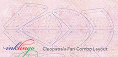 Cleopatra's Fan Quilt Combo Layouts
