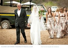 So freaking cool for a bushveld wedding!