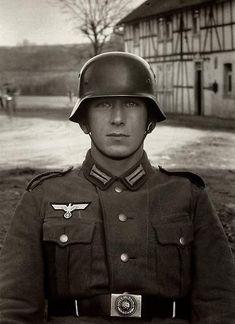 August Sander   Soldier, c 1940