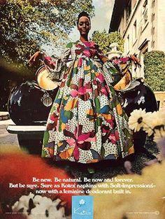 1970s Kotex ad
