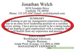 """What To Write In A Resume Summary Don't Say You're """"experienced"""" On Your Resume And Other Words To ."""
