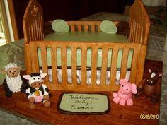 Love this crib cake