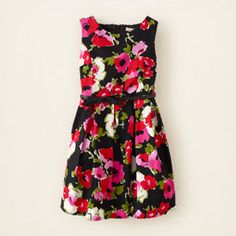 floral print dress, I want these!!