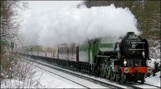 torndo train pictures | Darlington-built Tornado was unaffected by the freezing conditions
