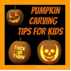 Pumpkin Carving Tips for kids!