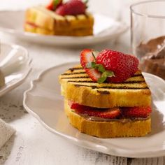 Whip up something sweet for brunch with my Chocolate Strawberry Panini.