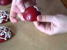 Mézeskalács Gömb készítése karácsonyfára - YouTube