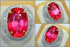 Sparkling Hot PADPHARASCHA SAFIR Best Colour Code : PP 088 + Sertifikat