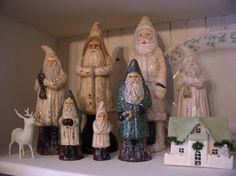 Belsnickle Santa's | Belsnickles - I have a colection of these...I love them!