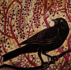 Kent Ambler woodcut.