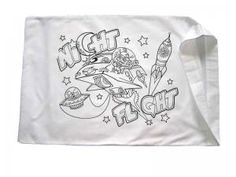 Party Craft Color your own pillowcase   SleepOver Party ...