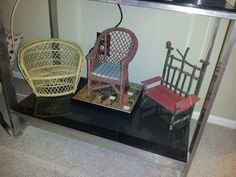 Gails mini chair collection.