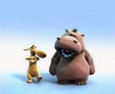 This video is a very old song in a newer version (by the Tokens), interpreted by an hilarious duo, Pat the Hippo and the Stanley, the Dog; by Pierre Coffin. Funny Animal Memes, Funny Animals, Funny Vid, Hilarious, Kerstin Ott, Happy Birthday Funny Humorous, The Lion Sleeps Tonight, Birthday Songs, Art Drawings For Kids