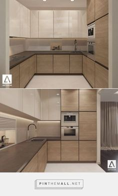 Here are the Modern Kitchen Design Ideas To Inspire. This post about Modern Kitchen Design Ideas To Inspire was posted under the Kitchen category by our team at March 2019 at am. Hope you enjoy it and don't . Beige Kitchen, Kitchen Inspirations, Kitchen Cabinet Design, Kitchen Room Design, Kitchen Marble, Kitchen Remodel, Modern Kitchen Design, Bright Kitchen Decor, Small Modern Kitchens