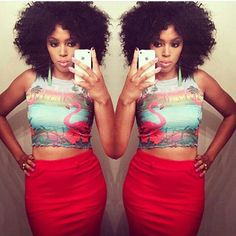 Black Girl Fashion, Crop Tops, Hair, Instagram, Women, Strengthen Hair, Cropped Tops, Crop Top Outfits, Woman
