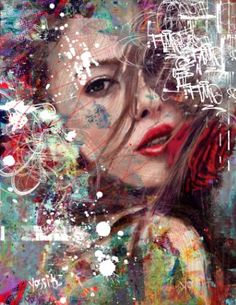 "Saatchi Art Artist yossi kotler; Painting, ""projection"" #art"