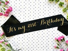 21 Birthday Finally 21 Sash Finally Legal Sash by ShadesOfPinkBtq