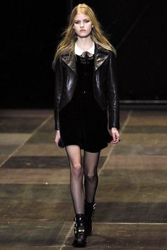 Saint Laurent Fall 2013 RTW - Runway Photos - Fashion Week - Runway, Fashion Shows and Collections - Vogue Fashion Week, Runway Fashion, High Fashion, Fashion Show, Paris Fashion, Review Fashion, Uk Fashion, Trendy Fashion, Vintage Ysl