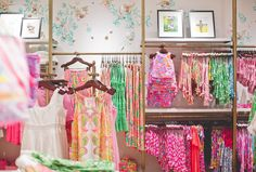 Fully stocked in our Lilly Pulitzer Store at the Mall at Green Hills in Nashville.