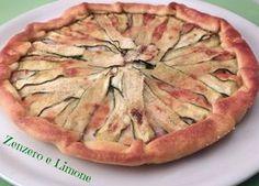 Torta salata taleggio speck e zucchine - CIBO No Salt Recipes, Wine Recipes, Strudel, Pizza E Pasta, Food Bulletin Boards, Simply Recipes, Simply Food, Salty Cake, Antipasto