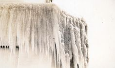 Winter shots at the beach strip. This image shows a closeup of the ice on the lighthouse at the end of the pier in Lake Ontario. Historical Images, Local History, Image Shows, Ontario, Hamilton, Lighthouse, Shots, Ice, Beach