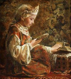 "Photo from album ""Живопись . I Love Mirrors, Medieval Fashion, Imperial Russia, Norman Rockwell, Art For Art Sake, Russian Art, Art Blog, Art History, Artwork"