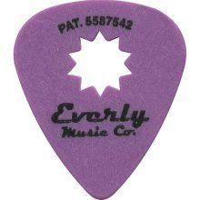 Purple guitar picks