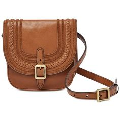 Fossil Festival Leather Fanny Pack (326.915 COP) ❤ liked on Polyvore featuring bags, saddle, belt bag, leather tote handbags, fanny bag, tote handbags and waist bags