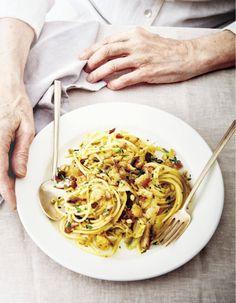 Spaghettis au pain pangrattato