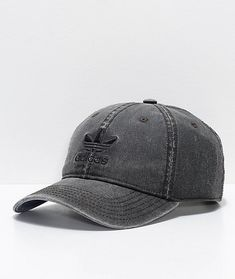 c813a897d87 adidas Relaxed Grey Wool Dad Hat
