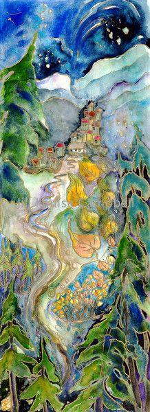 Jill Louise Campbell (Salt Spring Island)   title.... Other Side of the Mountain