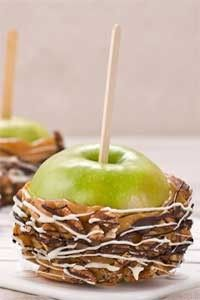 Check out what I found on the Paula Deen Network! Outrageous Caramel Apples http://www.pauladeen.com/recipes/recipe_view/outrageous_caramel_apples