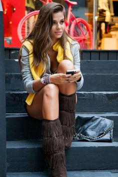 #inverno2013 #streetstyle #style #look #ootd #saopaulo #brasil #casaco #trico #botafranjas #estilo #lavibh