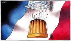 L'inévitable chute de F. Hollande.