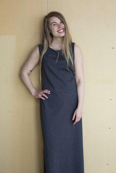 Mori Collective Ariel Maxi Dress - Sea Salt Pic: www.ainohuotari.com