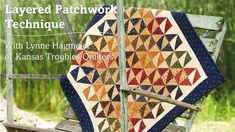 Easy! Layered Patchwork Technique with Lynne Hagmeier | Martingale